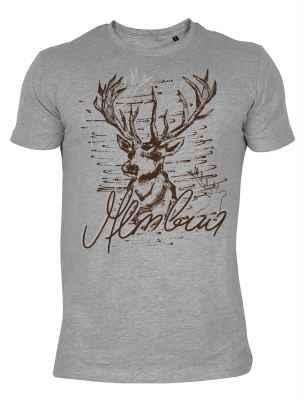Trachten T-Shirt: Almbua Hirsch
