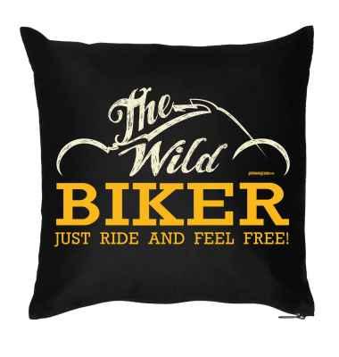 Kissenbezug: The Wild Biker - Just Ride and feel free!