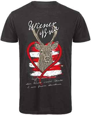 T-Shirt Trachten: Wiener Bua
