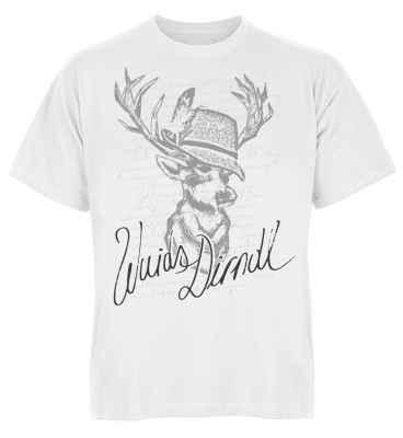 Trachten T-Shirt: Hirsch - Wuids Dirndl