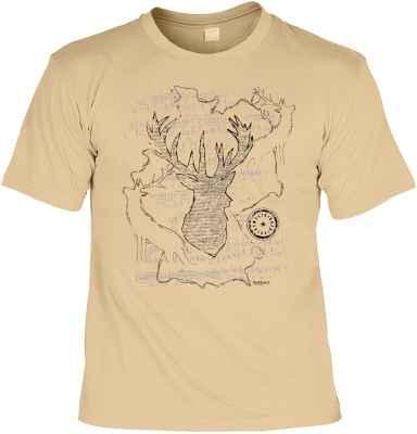 T-Shirt Landhaus: Hirsch
