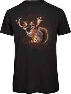 Landhaus T-Shirt: Wolpertinger
