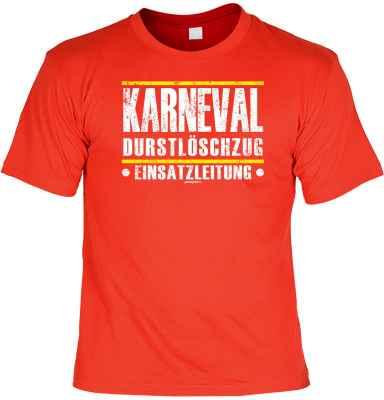 T-Shirt: Karneval Durstlöschzug - Einsatzleitung -