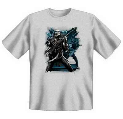 T-Shirt: Predator - Skelett mit Gitarre