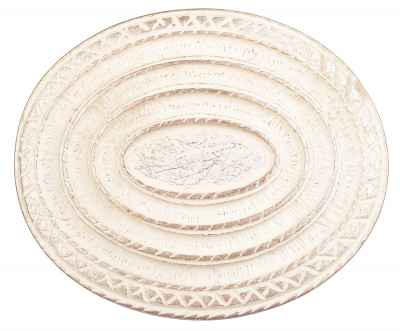 Gürtelschliesse: Ornamente 9 x 7,5 cm 40 mm