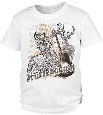 Tracht Jungen T-Shirt: Hüttengaudi