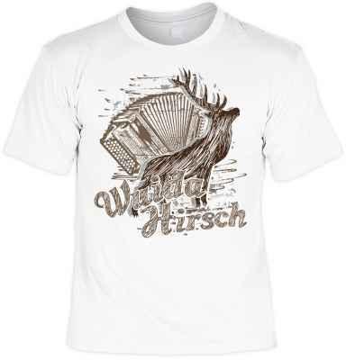 Landhaus-T-Shirt: Wuida Hirsch