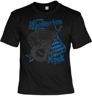 Landhaus-T-Shirt: Bavarian Rock
