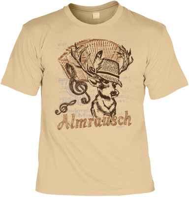 T-Shirt im Landhausstil: Almrausch