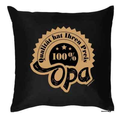 Kissen mit Füllung: Qualität hat ihren Preis - 100 Prozent Opa