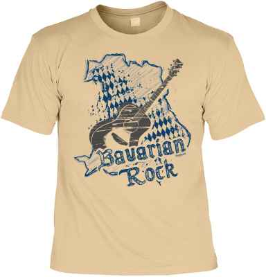 T-Shirt Trachten: Bavarian Rock